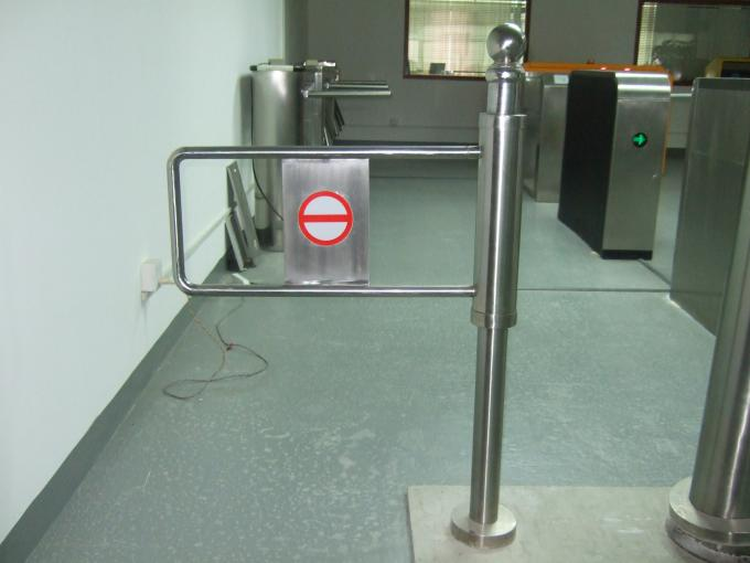 Wide Channel Manaul Pedestrian Swing Gate Mechanical Opening Handicapped Application