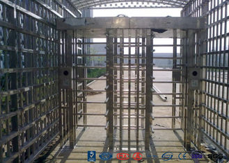 Double Passage Controlled Access Turnstile Rapid Identification For Stadium With CE Approved