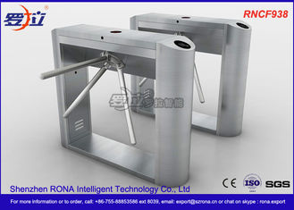 ID / IC Access Control Tripod Turnstile Gate , Standard Automatic Systems Turnstiles