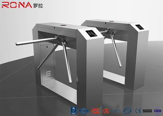 China Bridge Type Pedestrian Security Gates RFID Flap Barrier Turnstile Fingerprint Reader supplier