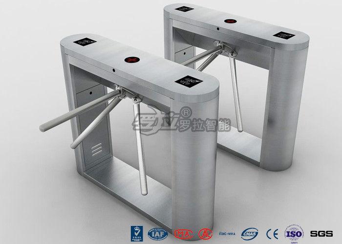 Biometric tripod turnstile gate rs pedestrian security