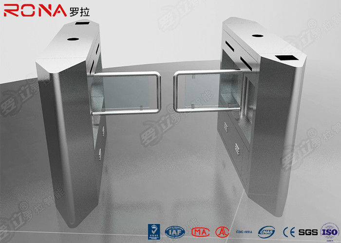 Luxury Automatic Security Access Control Swing Barrier Gate System With Rfid Identification
