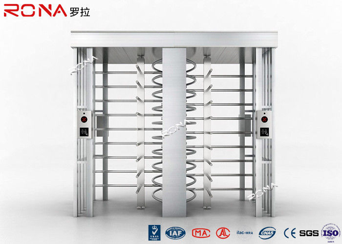 Dual Way High Security Turnstile Mechanism Access Control Gate Bi - Directional