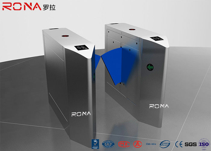 Smart Speed Flap Barrier Gate Turnstiles Pedestrian Control Electronic Solf Flapper