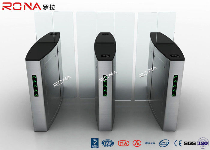 High Speed Sliding Barrier Gate Automatic Pedestrian Access Control Turnstile