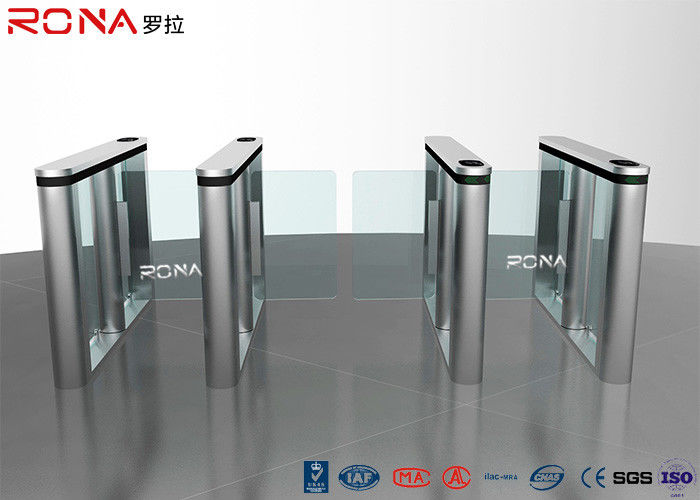 RFID Reader Speed Gate Turnstile Automatic Systems DC Servo Motor With LED