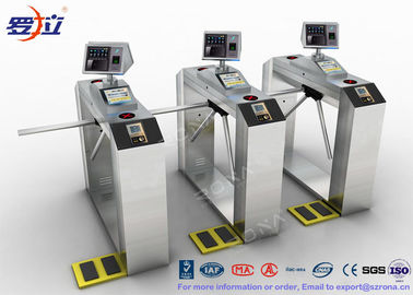 China TCP / IP Door Security Access Control Turnstiles RFID Automatic Tripod Turnstile Gate factory