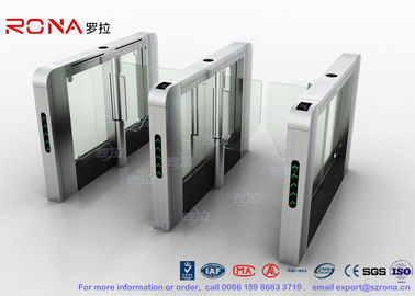 DC Servo Motor Speed Gate Turnstile Pedestrian Barrier 600mm-1200mm Passage Width