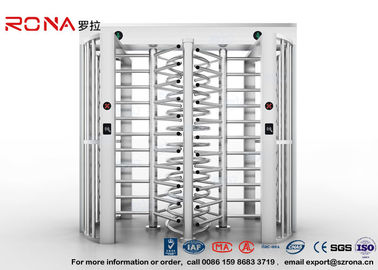 Full Height Turnstile Access Control Turnstile Dual Passage With CE Approved