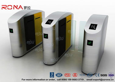 China IC / ID Identification Sliding Barrier Turnstiles Stainless Steel DC Servo Motor factory