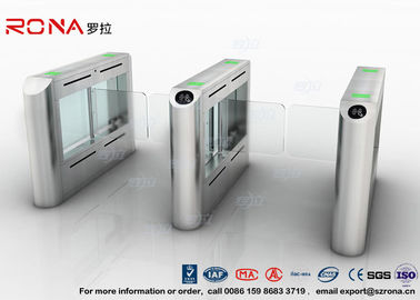 Waterproof Stainless Swing Gate Turnstile , Acrylic Swing Arm Barriers Electric