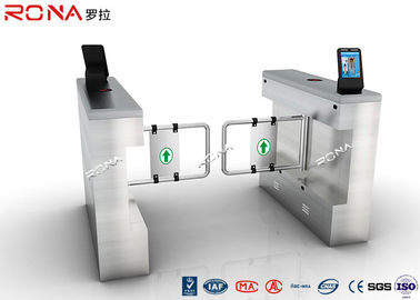 Swing Facial Recognition Turnstile Gate Door Access Control 304 Stainless Steel