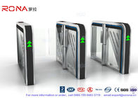 CE Approved Luxury Speed Gate Access Control System For Office Building With 304 stainless steel