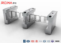 RFID Card Automatic Access Control Turnstile Gate Stainless Steel For Park / Musem